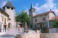 Saint Santin Le Village double
