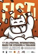 FESTIVAL INTERNATIONAL DE STICKERS A TOULOUSE
