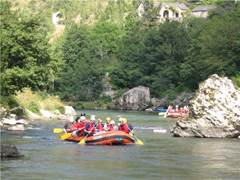 Aigue Vive rafting