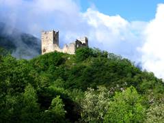 The castle of Miglos