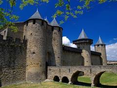 CARCASSONNE CASTLE AND RAMPARTS