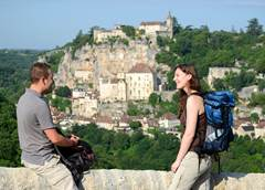In the heart of Rocamadour