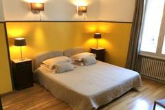 """Bedroom """"Safran"""", the guesthouse """"45-BB"""""""